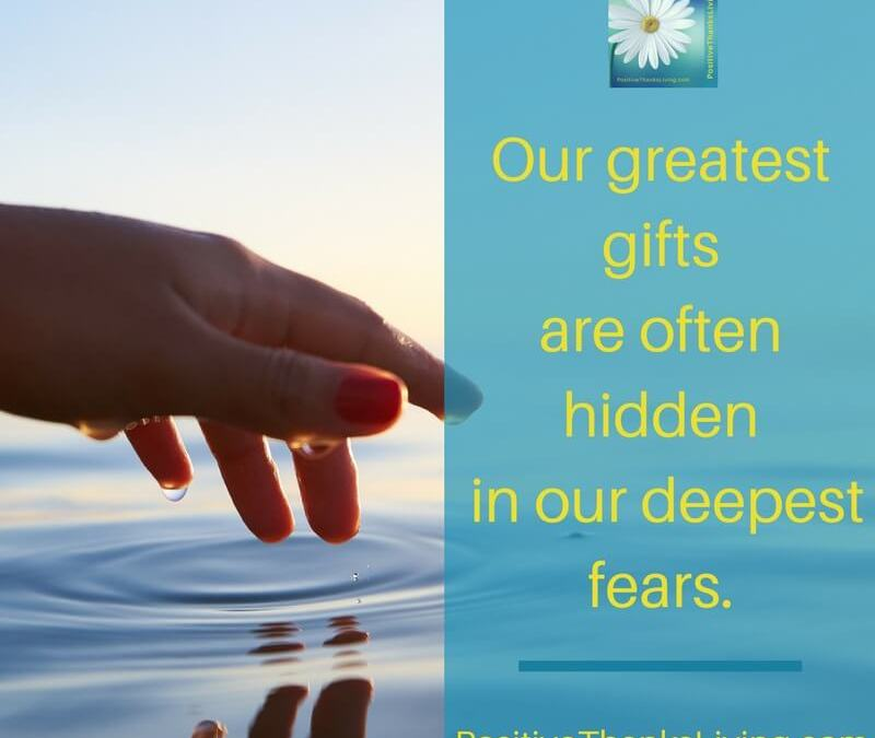 Your Gift May Be Hidden By Your Fear