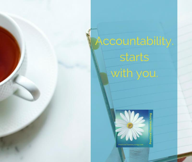 Accountability Starts With You – 8 ways to hold yourself accountable