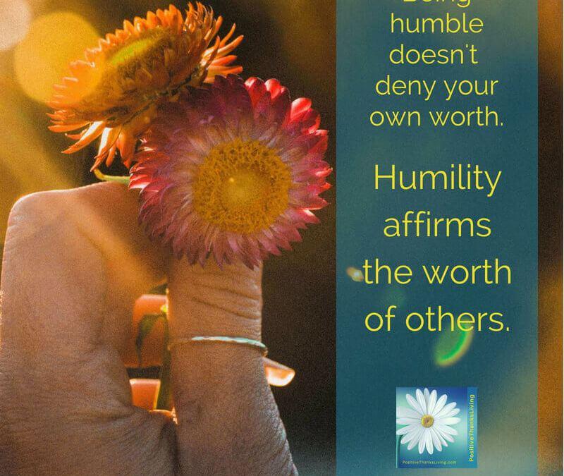 Benefits of Humility