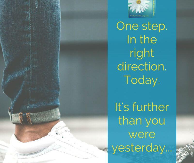 One step.