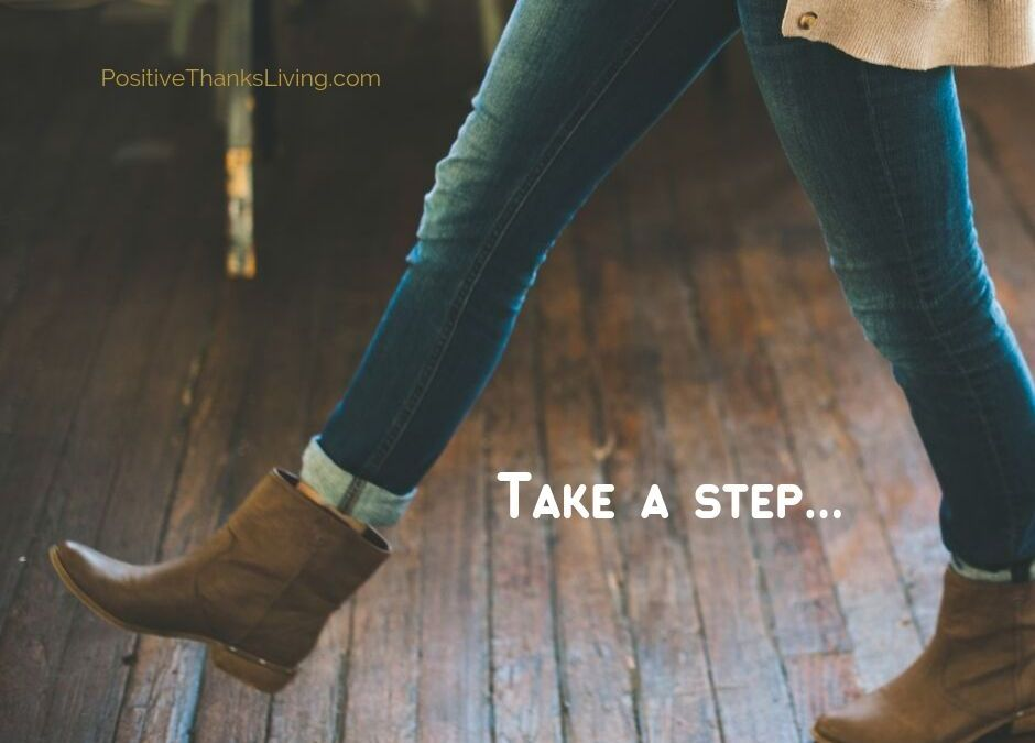 until ordinary become extraordinary - take a step