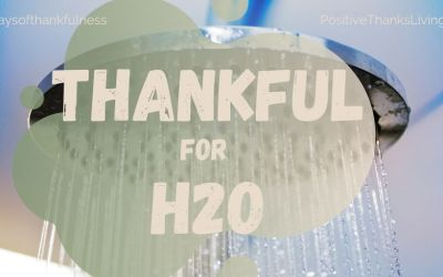Be Thankful for H20