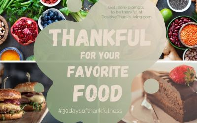 Be thankful for your favorite food!