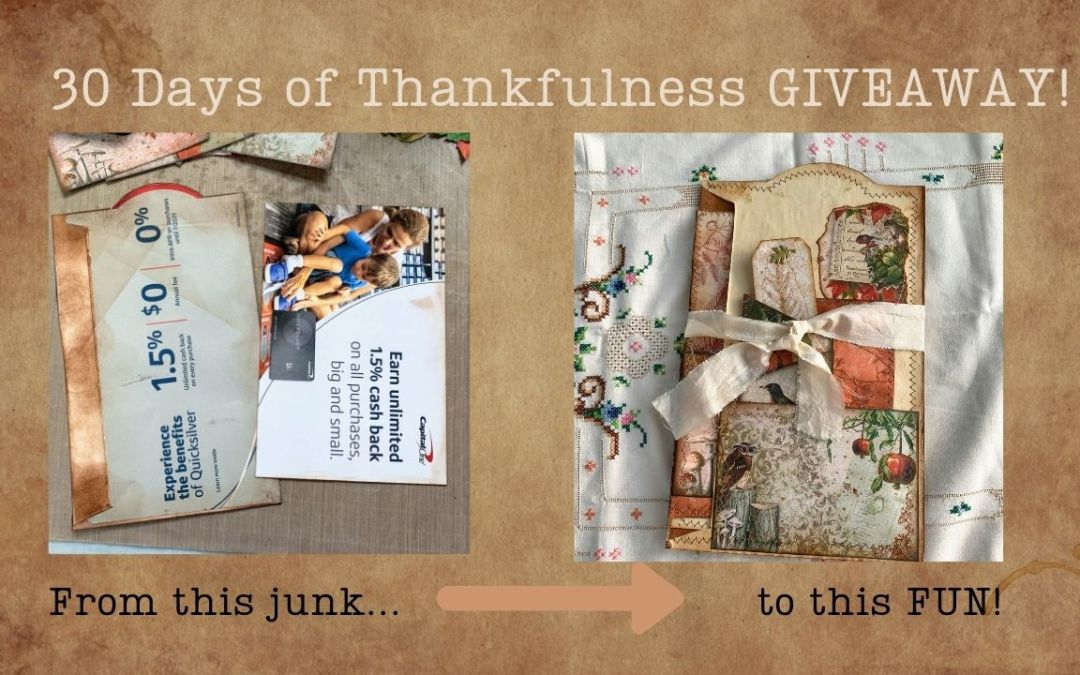 From Junk into Fun – Giveaway!