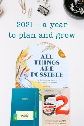 a year to plan and grow
