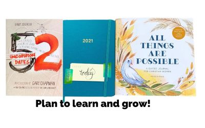 Plan to learn and grow.