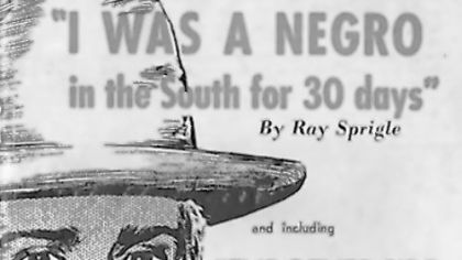 Ray Sprigle's story of the Jim Crow South hits the stage