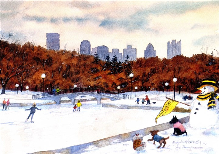 Pittsburgh Themed Holiday Cards Aid Charities And Causes Pittsburgh Post Gazette