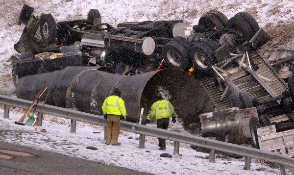 Ups Tractor Trailer Accident - Year of Clean Water