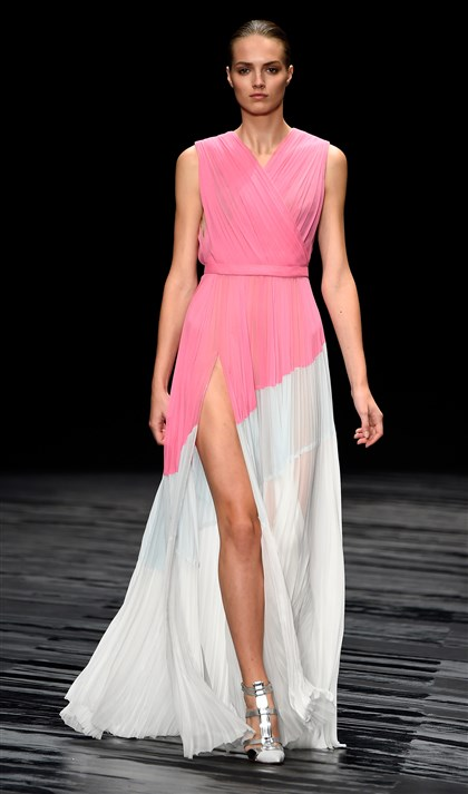 J. Mendel at New York Fashion Week Spring 2015 J. Mendel