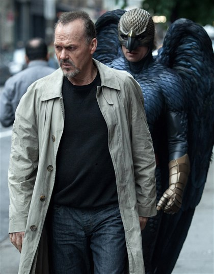 "Keaton_birdman0116 Michael Keaton portrays Riggan in a scene from ""Birdman."""