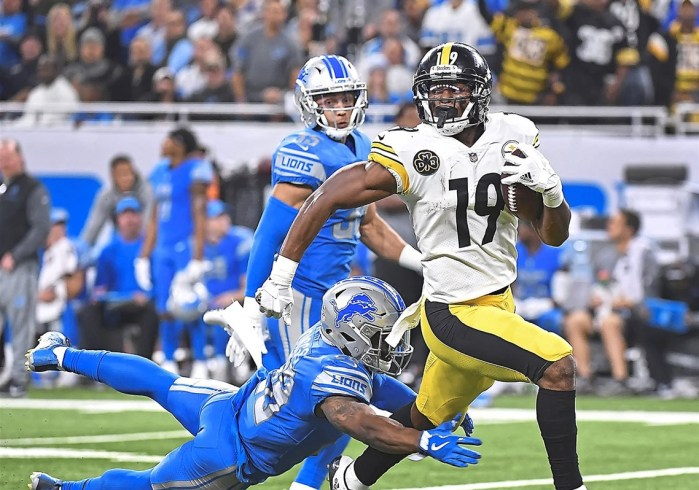 JuJu Smith-Schuster week 8 rookie review