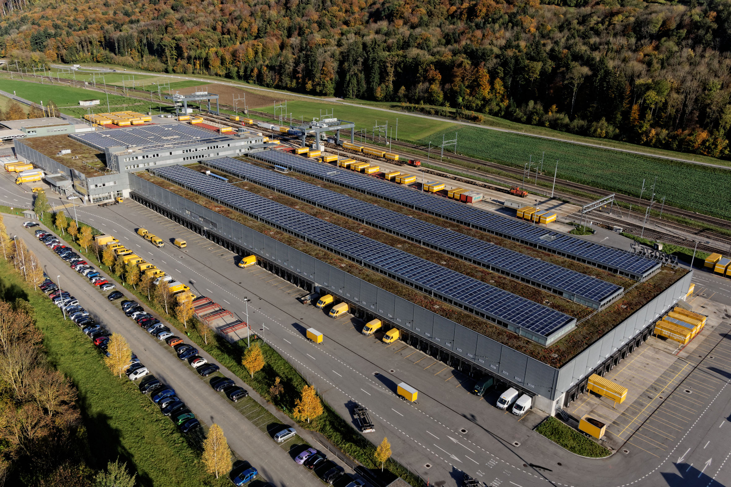 Swiss Post Completes Solar Power Plant In Daillens Swiss