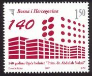 """JUBILEJI – 140 God. Opce Bolnice """"Prim. Dr. Abdulah Nakaš"""" U Sarajevu"""