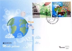 Evropa – Misli Zeleno (FDC)