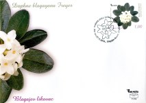 Blagajev Likovac (Daphne Blagayana Freyer) – FDC