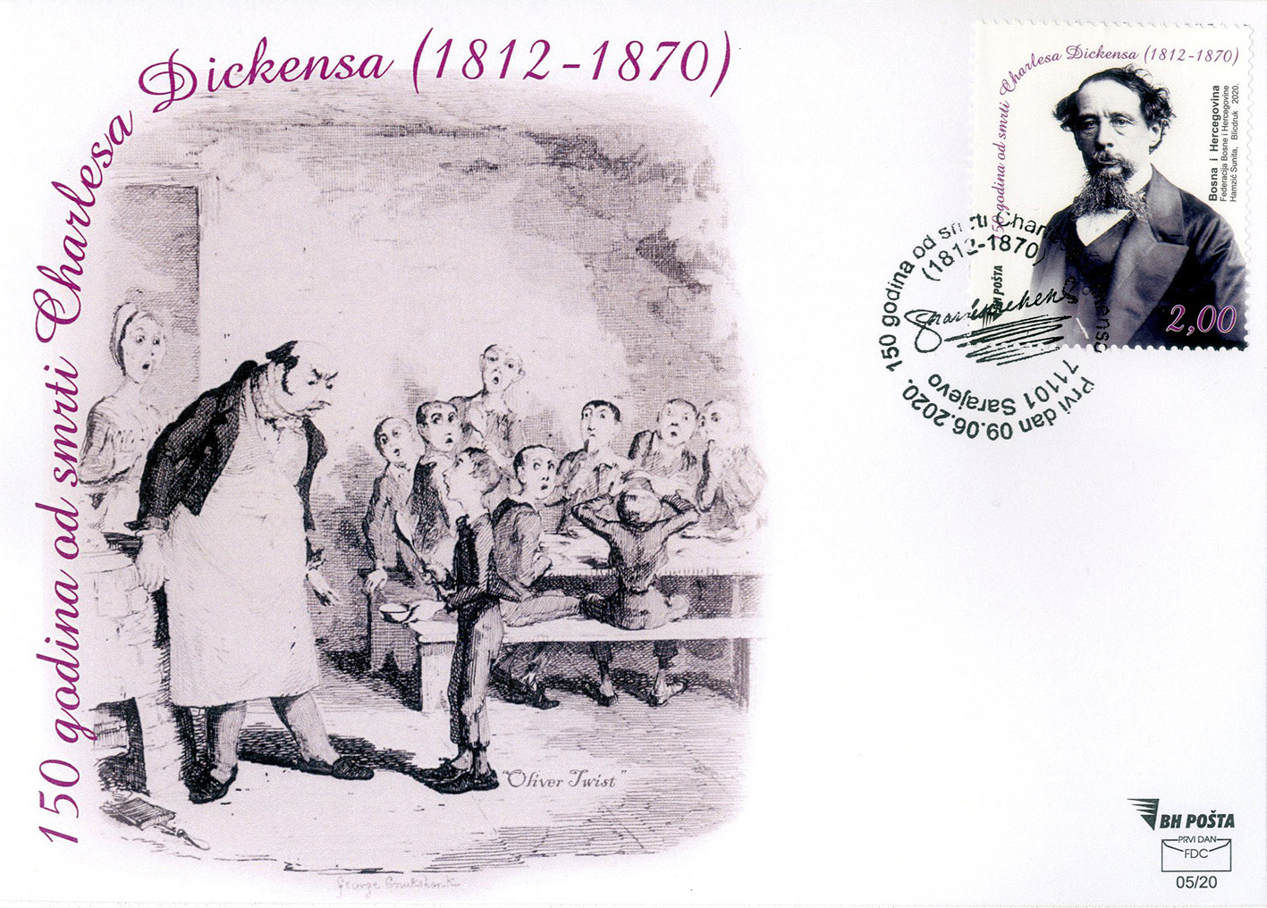 Dickens FDC091