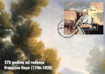 275 Godina Od Rođenja Francisca Goye (1746-1828) – FDC