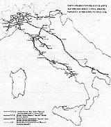 brevi cenni di storia della ferrovia in Italia
