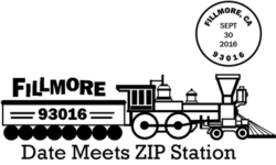 Date Meets Zip Code Event at Fillmore CA Post Office
