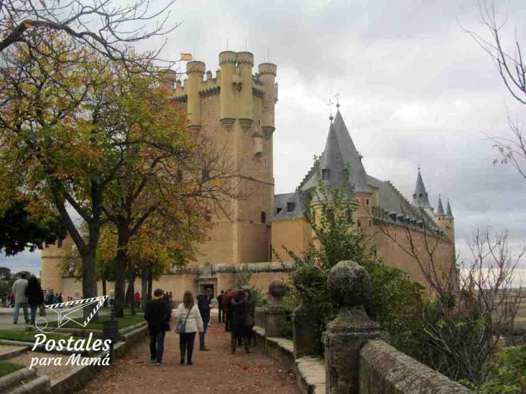 Alcázar Segovia - Postales para Mamá