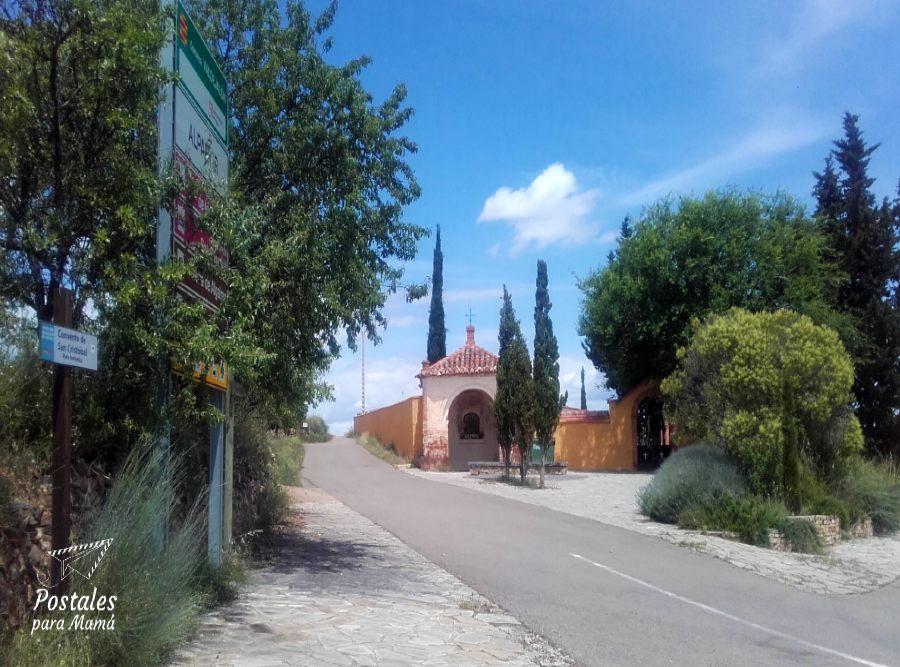 Alpartir Convento Cementerio - Postales para Mamá