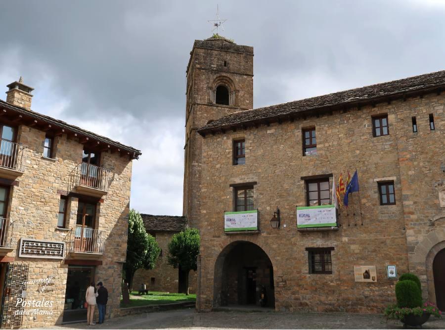 Ayuntamiento Aínsa - Postales para Mamá
