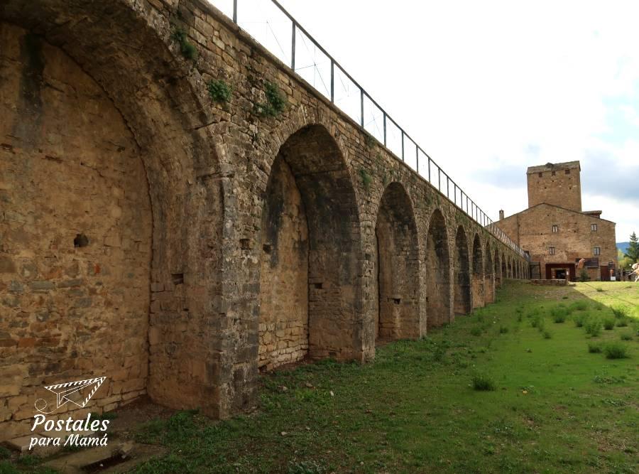 Castillo de Aínsa - Postales para Mamá