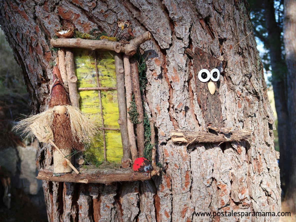 Bureta Bosque Encantado - Postales para Mamá