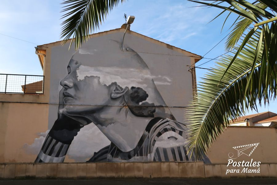 Mural 27 Alfamén - Postales para Mamá