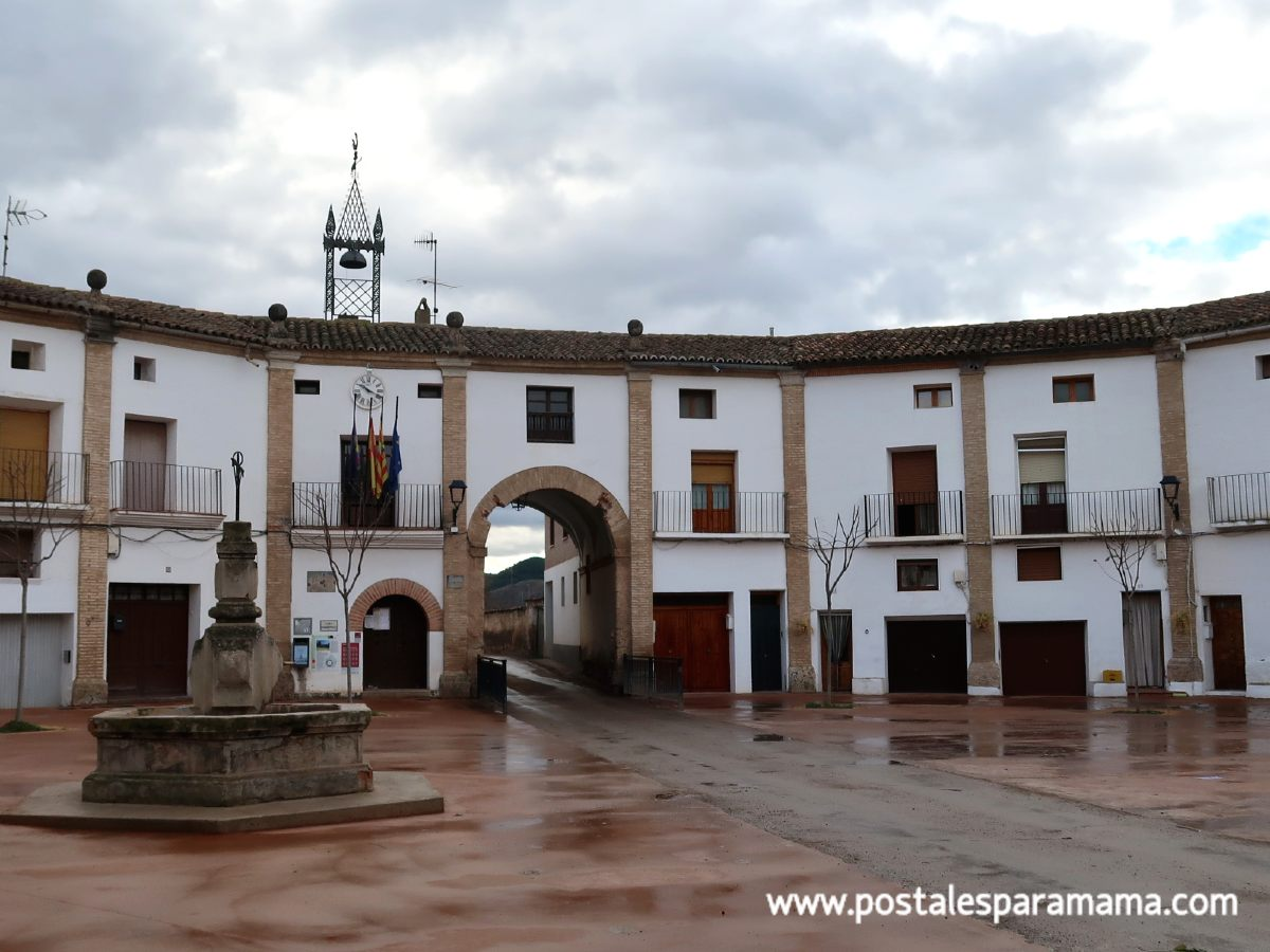 Plaza ochavada Chodes - Postales para Mamá