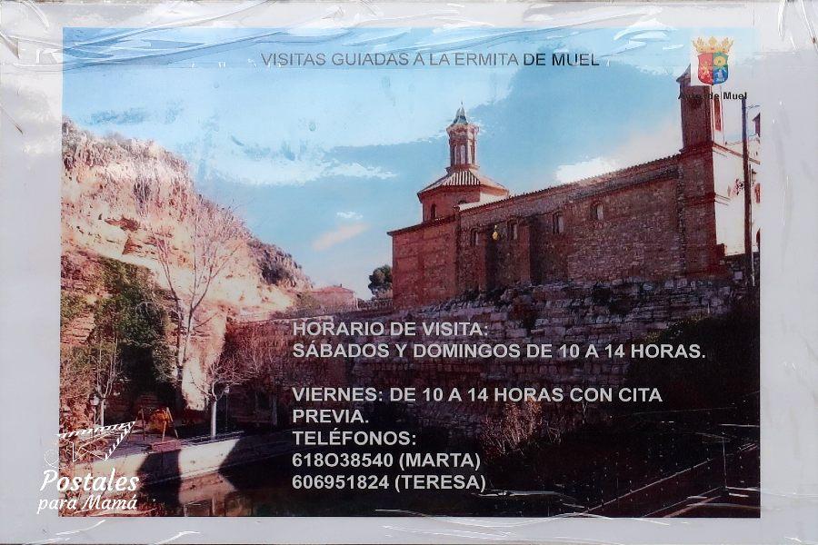 Ermita Muel Horario - Postales para Mamá
