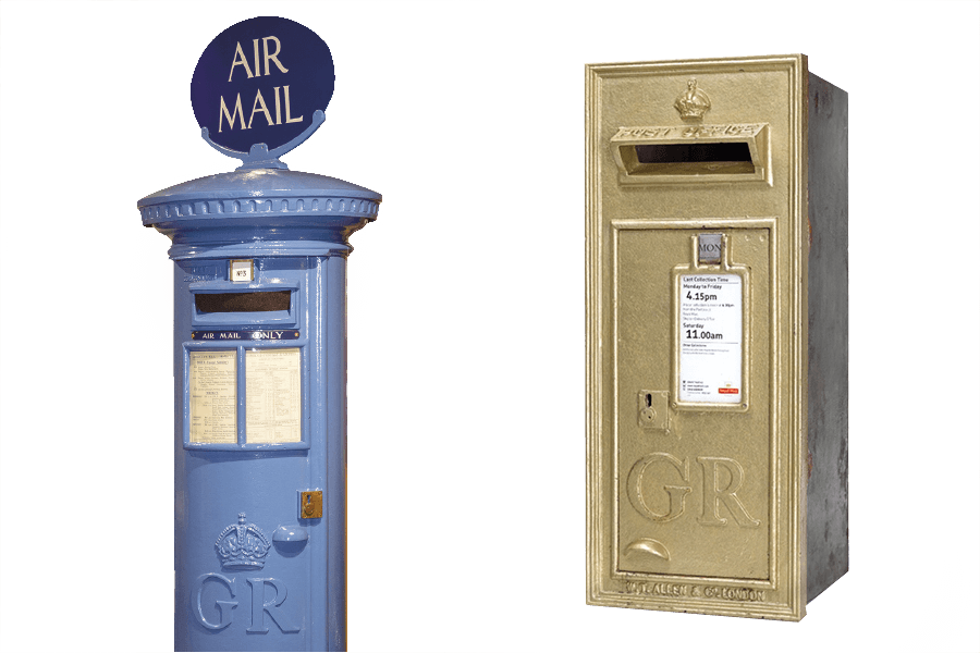 letter boxes the postal