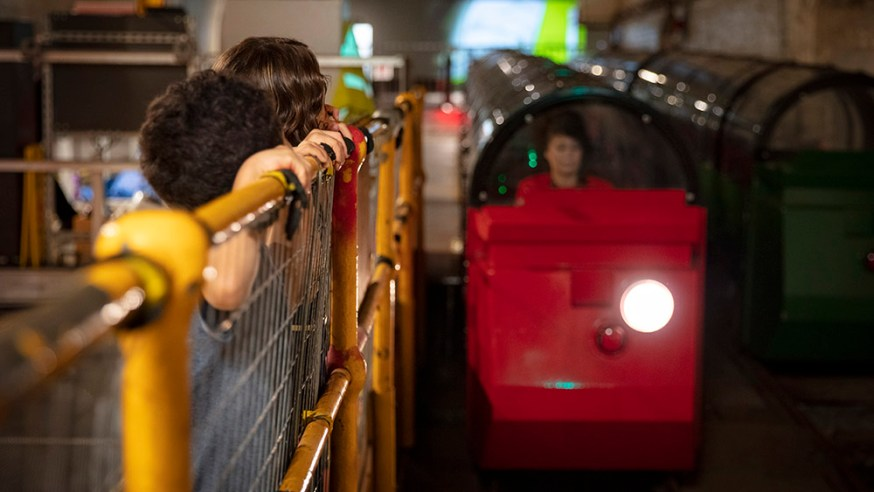 Visit the exhibitions and ride the Mail Rail train during relaxed mornings at The Postal Museum.