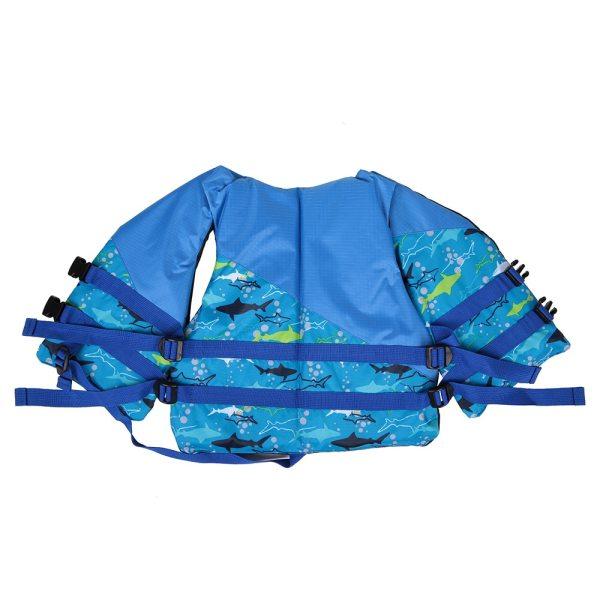 Detská záchranná vesta, bezpečnostné vybavenie na kajak, na plavbu na člne, surfovanie 15