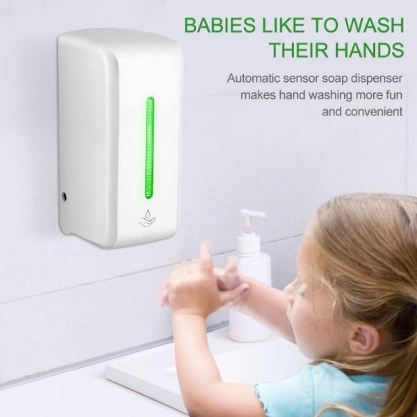 Automatický dávkovač mydla s bezdotykovým senzorom, dezinfekcia rúk (850 ml)  2