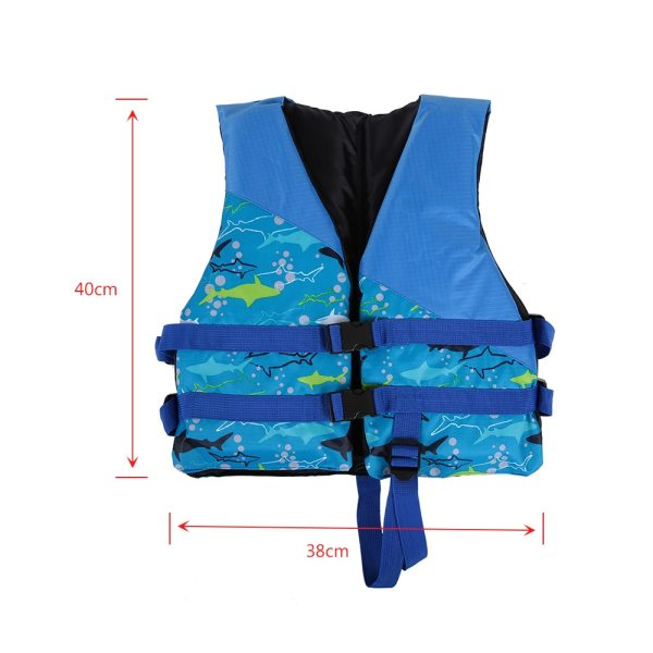 Detská záchranná vesta, bezpečnostné vybavenie na kajak, na plavbu na člne, surfovanie 3