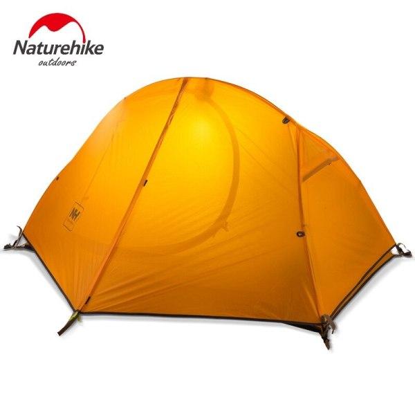 Cyklistický kempingový stan pre 1 osobu Naturehike Ultralight 20D/210T NH18A095-D 2