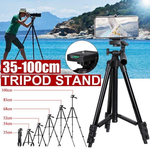 Ľahký Tripod statív pre mobilné telefóny ( 35 - 100 cm) 1