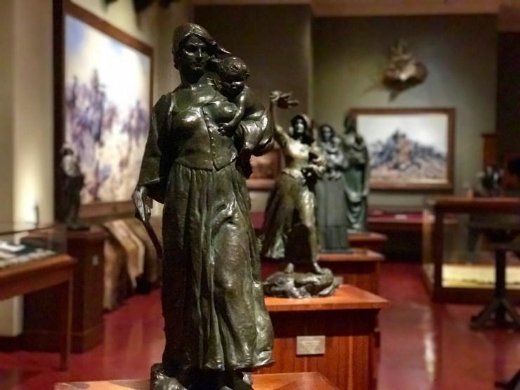 Woolaroc sculptures, Woolaroc, Oklahoma