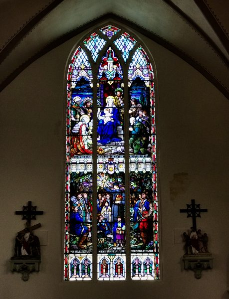 Osage Window, Immaculate Conception Catholic Church, Pawhuska, Oklahoma