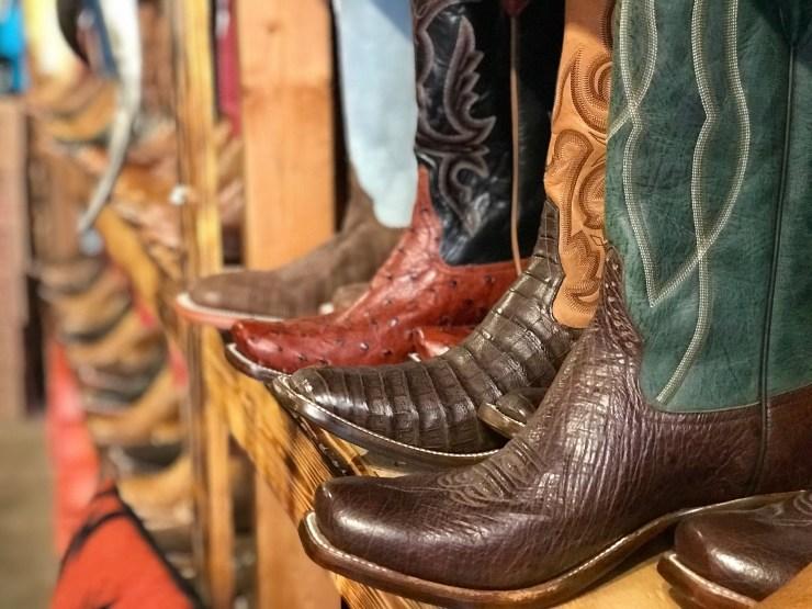 Osage Outfitters boots, Pawhuska, Oklahoma
