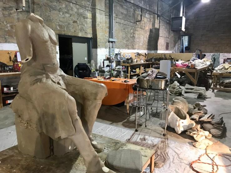 Bronze Horse Foundry sculpture, Pawhuska, Oklahoma