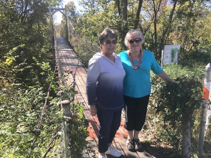 Swinging Bridge, Pawhuska, Oklahoma