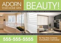 3 Brilliant Interior Design Direct Mail Postcard ...