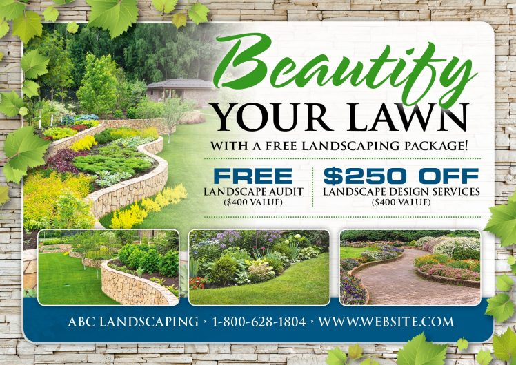 landscaping advertising ideas