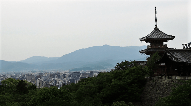 Kyoto, Japan - Kiyomizu-Dera Temple
