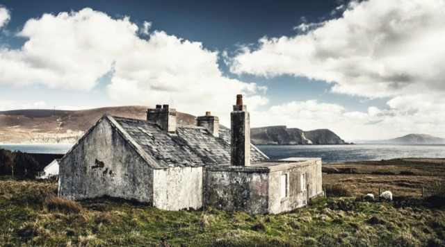 House by the sea in Ireland