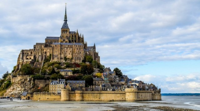 UNESCO World Heritage Site, Mont-Saint-Michel and its Bay