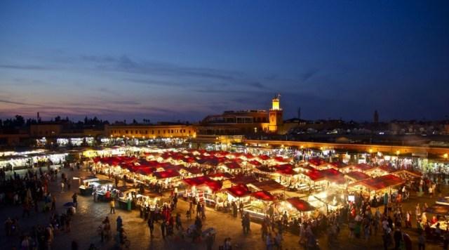 Jemaa el F'na, Marrakech, Morocco